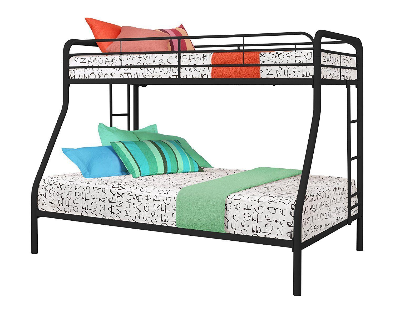 Dorel Twin Over Full Metal Bunk Bed Best Interior Paint Brand