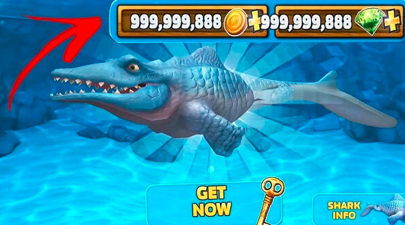 Download Hungry Shark Evolution Mod Apk Shark Shark Games Evolution