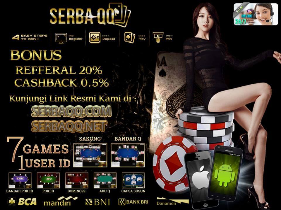 SERBAQQ.NET AGEN DOMINOQQ ONLINE TERPERCAYA INDONESIA