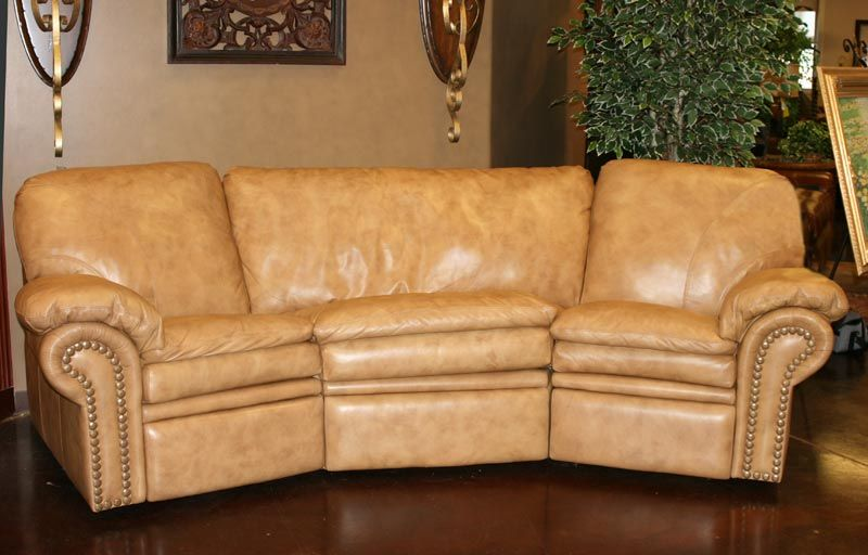 Curved Sofa   Custom Made In America Since 1913   6936