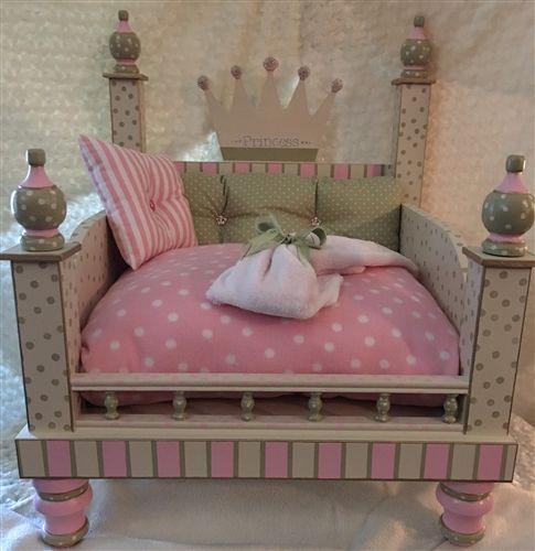 Light Princess Pink Designer Dog Bed is part of Light Princess Pink Designer Dog Bed Beds Blankets - exchanged, all sales are final  Not valid for discount or coupons