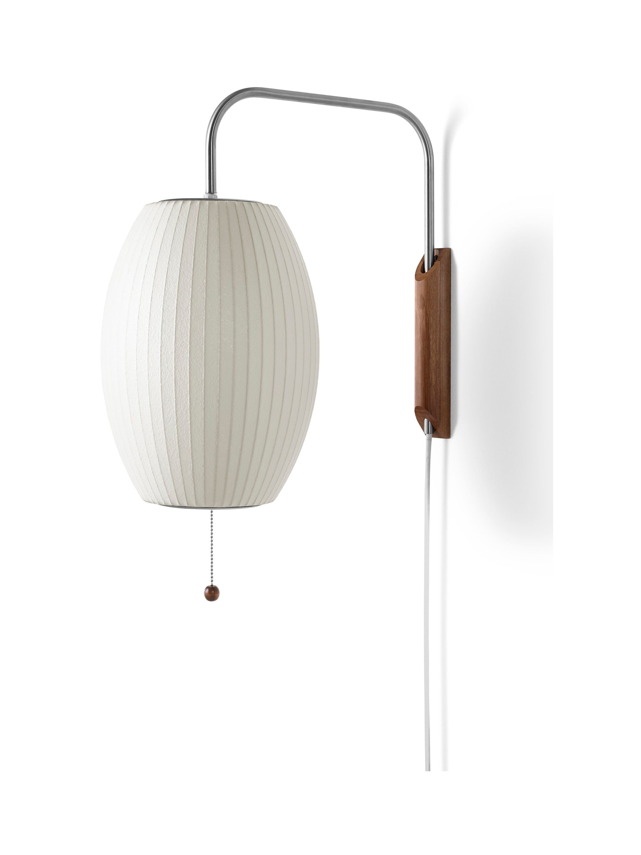Nelson Cigar Wall Sconce Pendant Sconce Wall Sconces Nelson Bubble Lamp