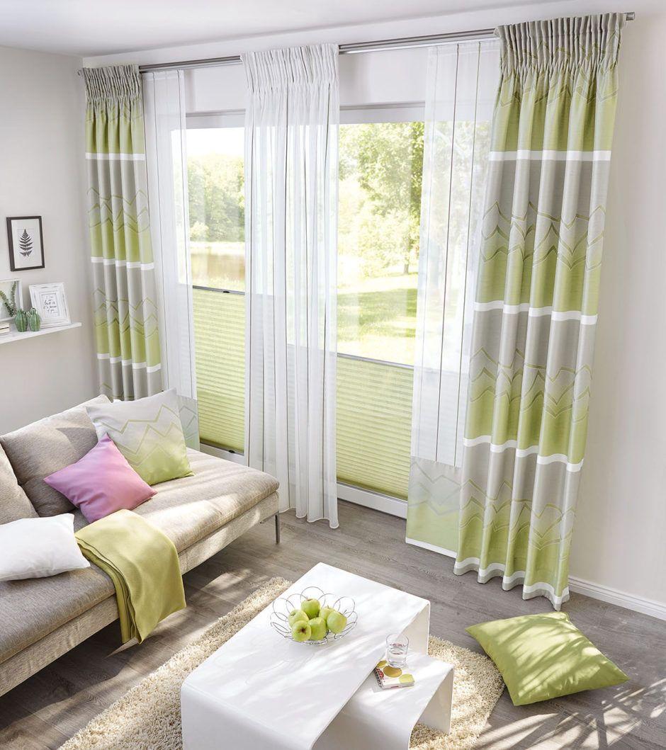 Wohnzimmer In Frischen Farben Gardinen Wohnzimmer Vorhänge Gardinen Ideen