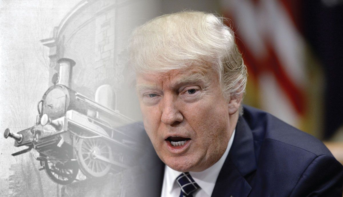 Trumps choice for us attorney general says he can stand up to him hindustan times - The Trump Train Wreck And Its Desi Enablers President Donald Trump Speaks Before Signing The