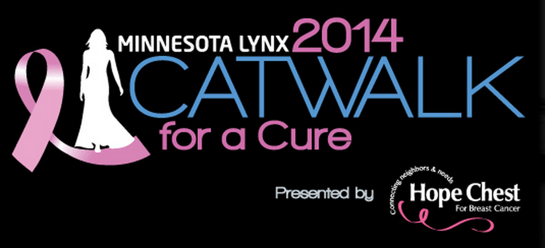 We're very excited to present this year's Minnesota Lynx Catwalk For a Cure event on Tuesday, July 29th at 5pm in the Mall of America Rotunda! Watch your favorite WNBA stars flaunt the latest fashions and help to support breast cancer research through this exciting fundraiser! http://bit.ly/1qIULAH