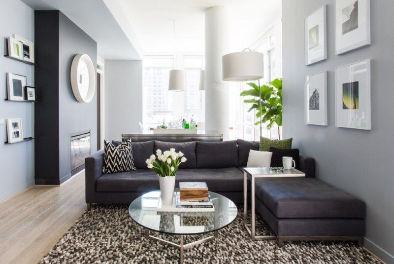 Dark Gray Couch Ideas For Appealing Living Room Grey Couch