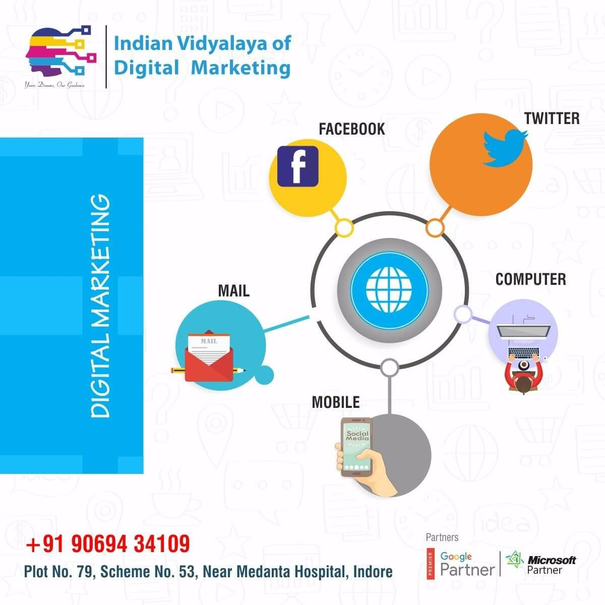 Indian Vidyalaya of Digital Marketing (IVDM) is one of the