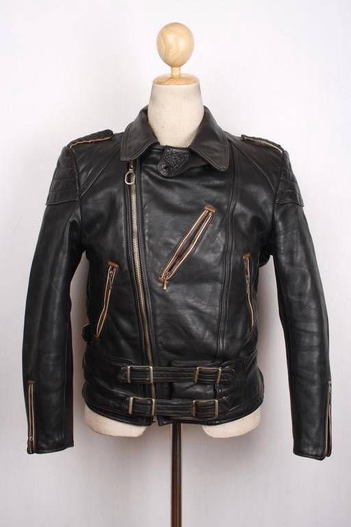Pin On Vintage Leather Jackets On Ebay