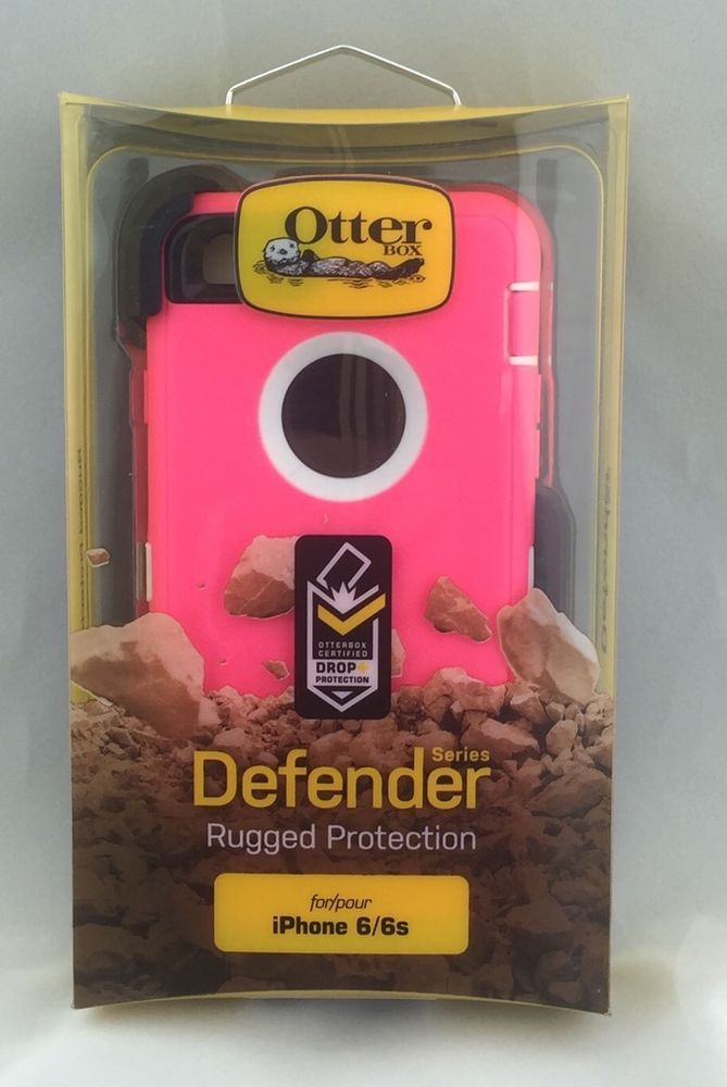 sports shoes be2ef 5aa3a Otter Box Defender Rugged Protection iPhone 6 6S | eBay #Otterbox ...