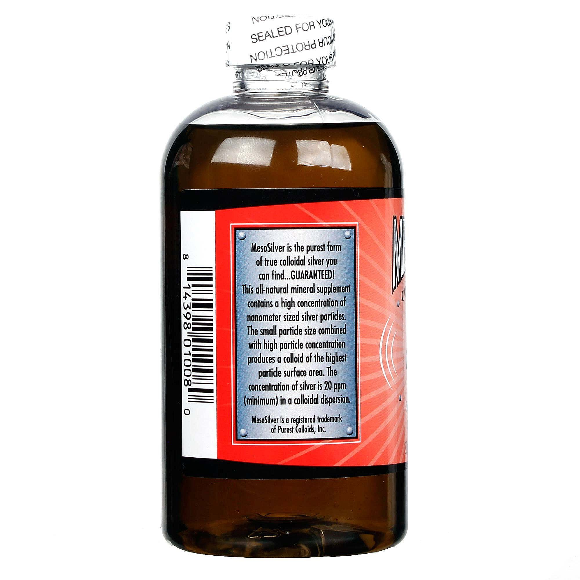 colloidal silver natural immune strength mineral supplement kills infection fast MesoSilver
