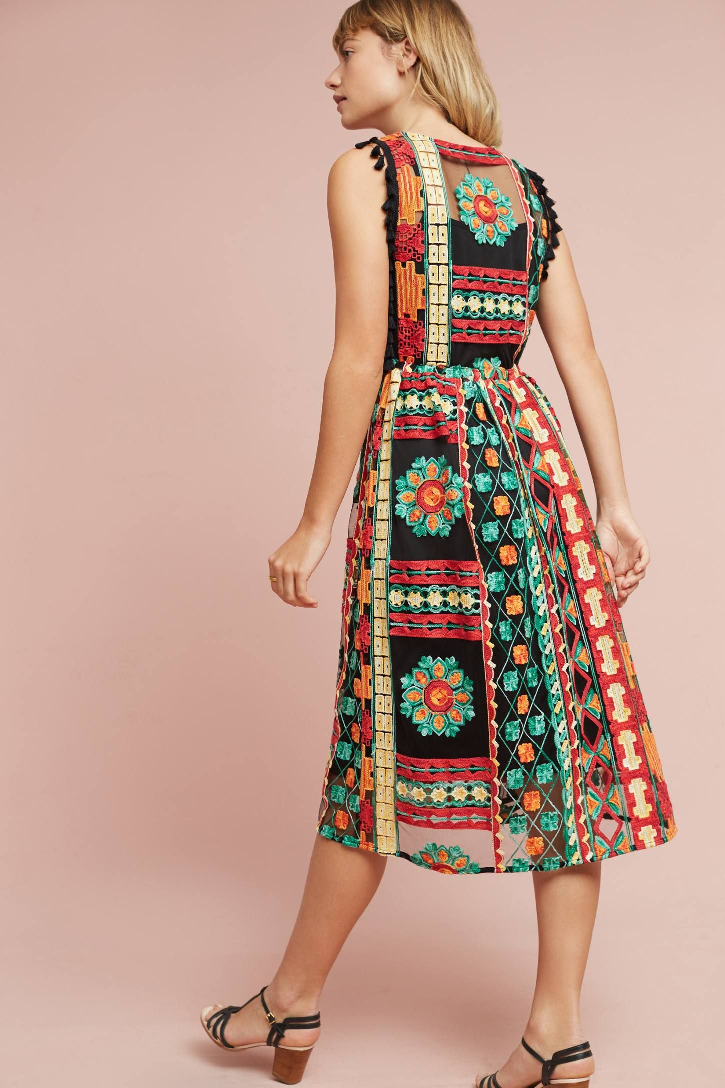 9fa3a4ec9acd Shop the Saskia Embroidered Dress and more Anthropologie at Anthropologie  today. Read customer reviews,