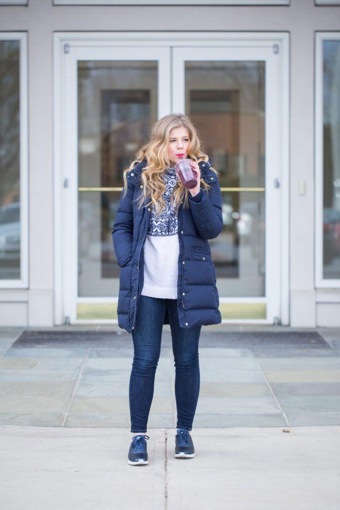 Navy Winter Coat   Winter, Navy and Skinny