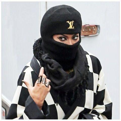 f0b489399f8 Beyoncé Louis Vuitton Ski Mask by  PrimerasNecesidades