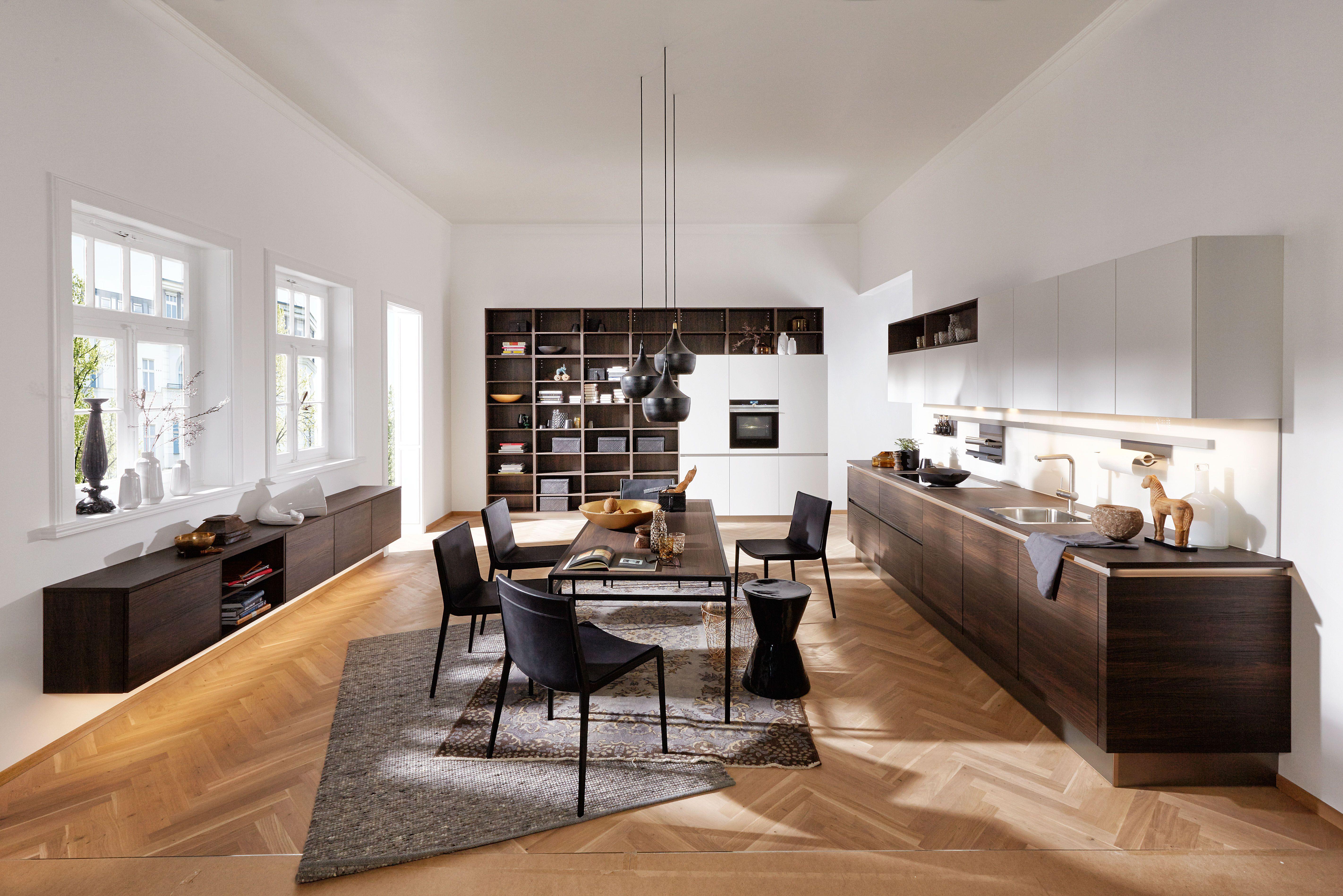 Home design bilder eine etage prachtige moderne keuken van nolte  onze eigen keukens  pinterest