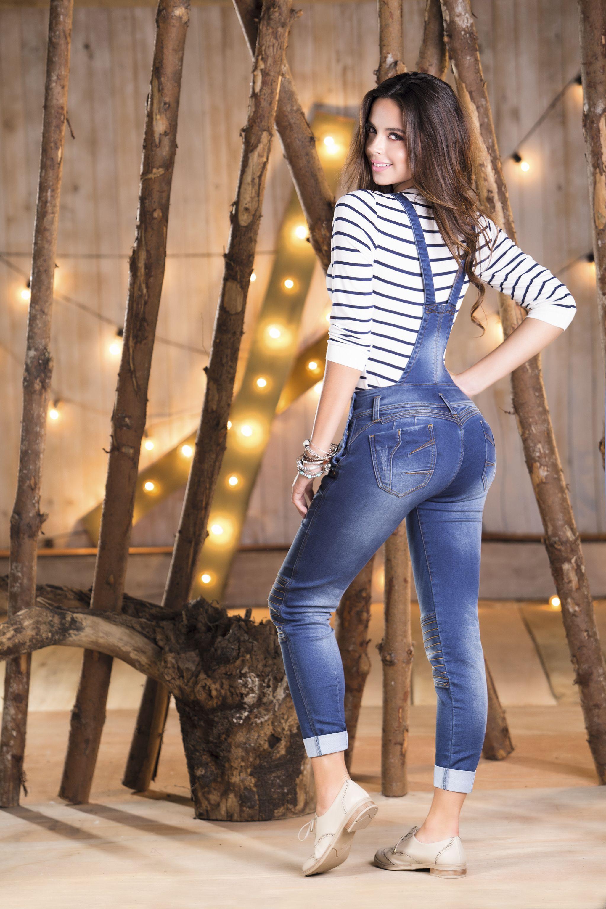 Luce una espectacular braga en jens. Resalta tu figura y tus curvas  #yovistotyt #jeanstyt