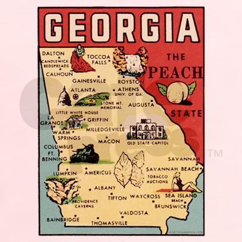 Georgia Georgia Map Georgia Travel