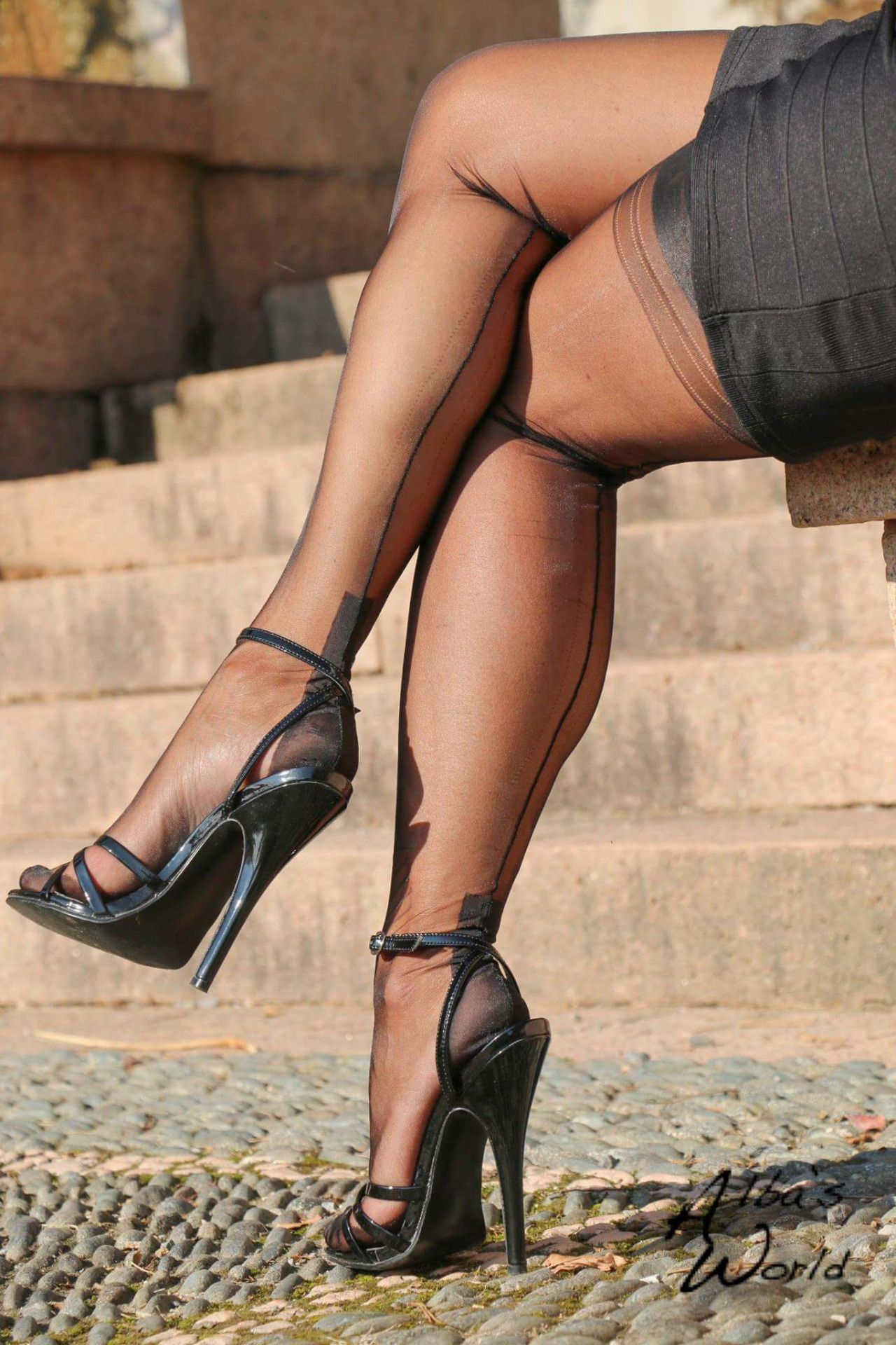 High Heels And Stockings Pics