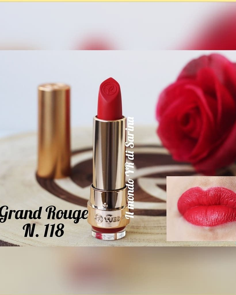 Grand Rouge N 118 Satin Di Yves Rocher Cosmetici Yves Rocher