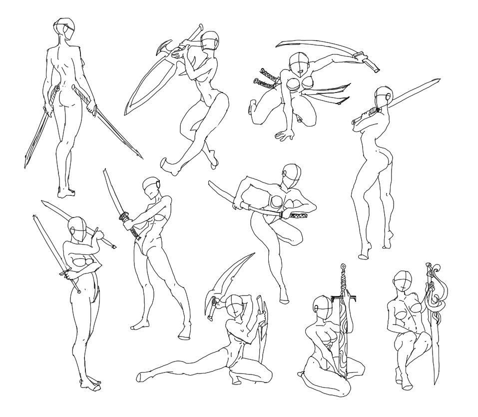 403 Forbidden Anime Poses Reference Drawing Reference Art Reference