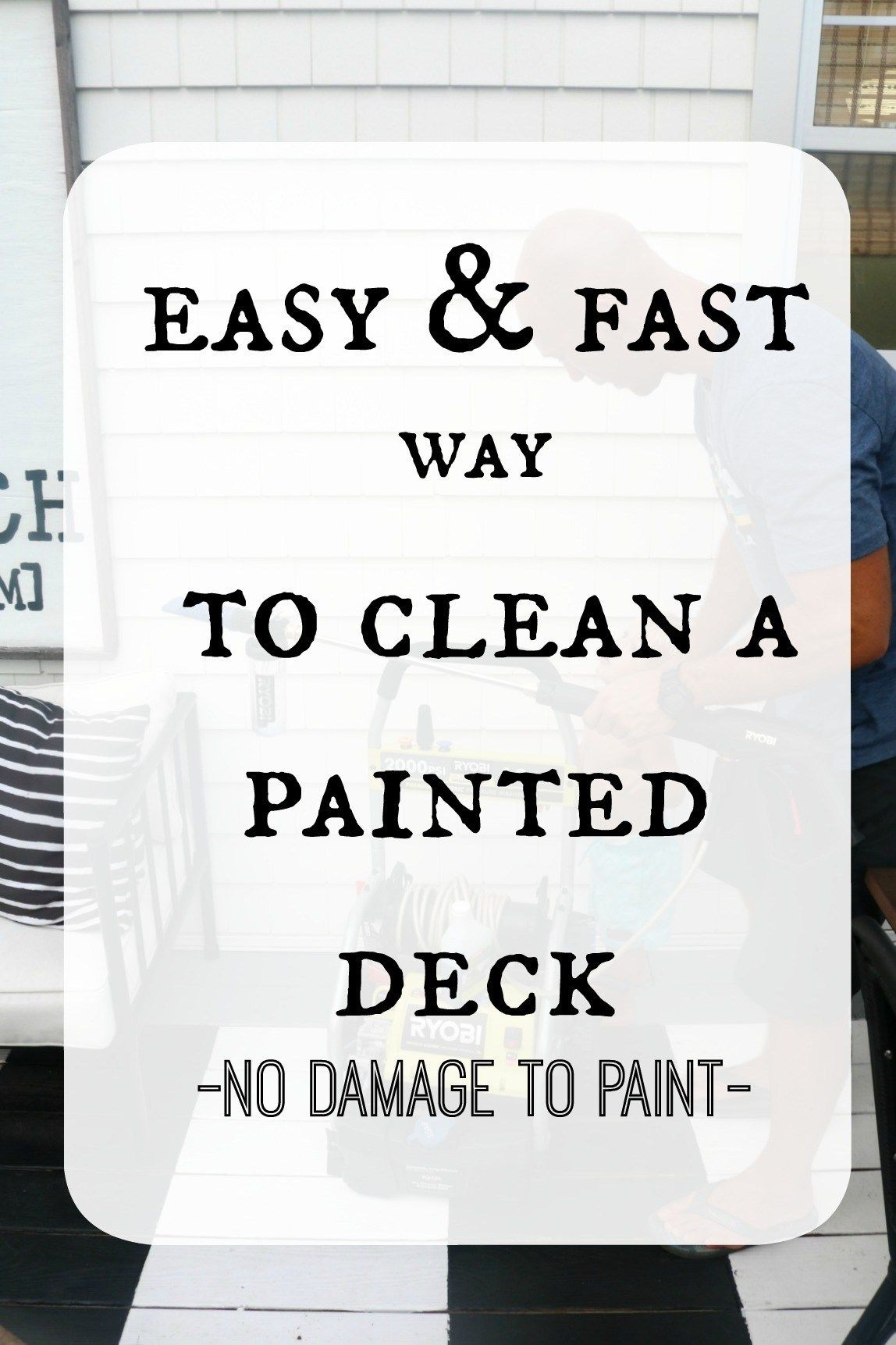 Deck switching from lattice to slats and how we clean our