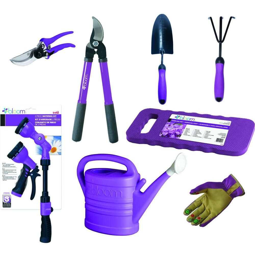 d9e83f4912ed2ce71b51b26028e5f378 - Bloom 4 Piece Gardening Tool Set