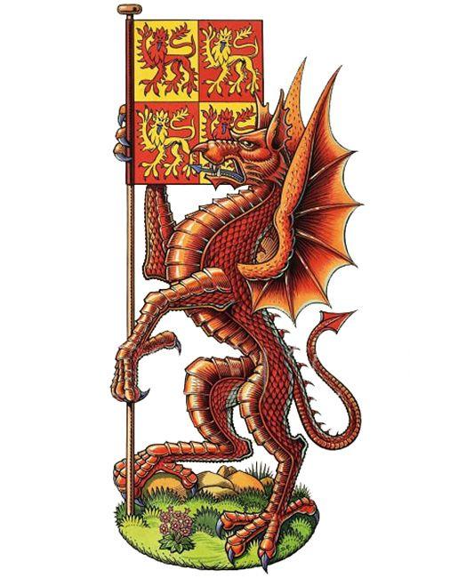 """""""The Dragon of Cadwaladr""""   Dan Escott"""