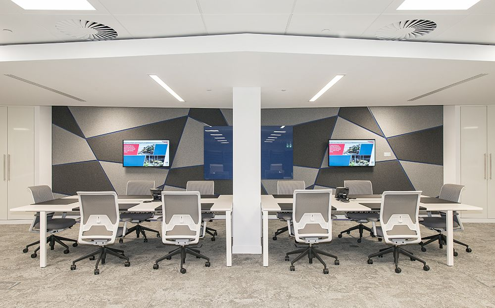 Network rail 39 s innovative new london bridge office was - Interior design work environment ...