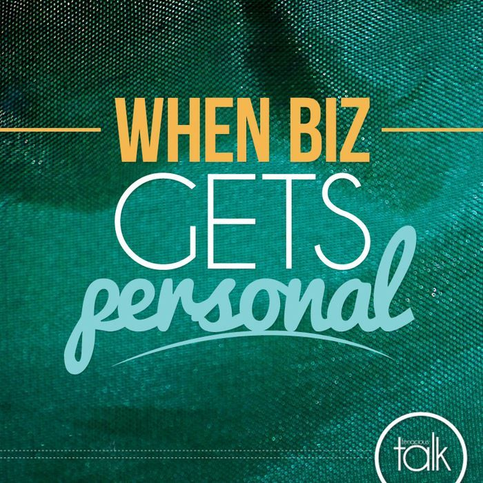 Have you struggled with your #biz getting too #personal?
