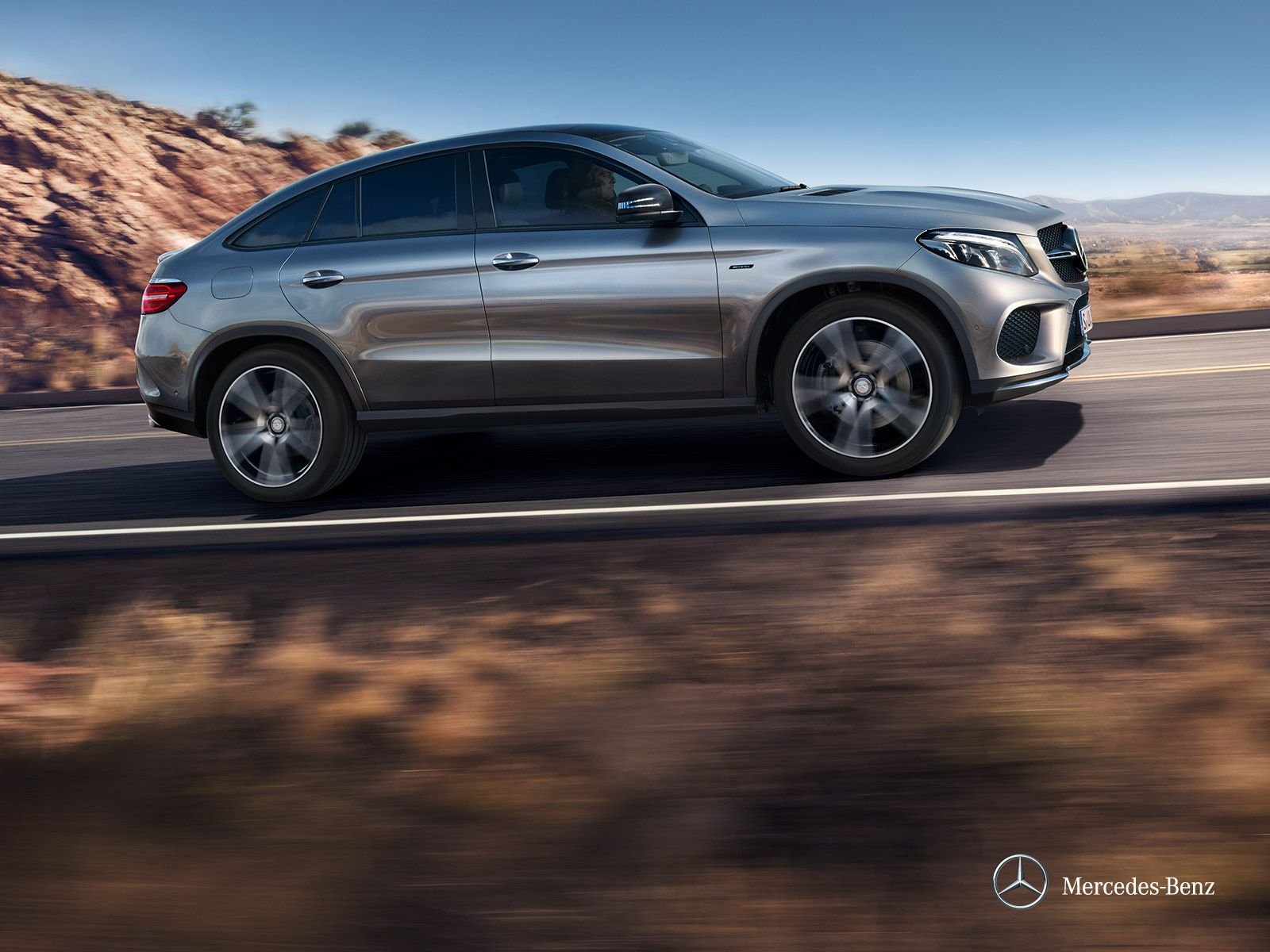 The new Mercedes Benz GLE Coupé seems to be a BMW X6 copy but it looks great the AMG version looks awesome