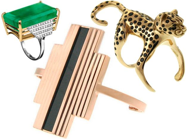 Anel de esmeralda Galeria, anel leopardo Bichos e, abaixo - deko f r k chenw nde