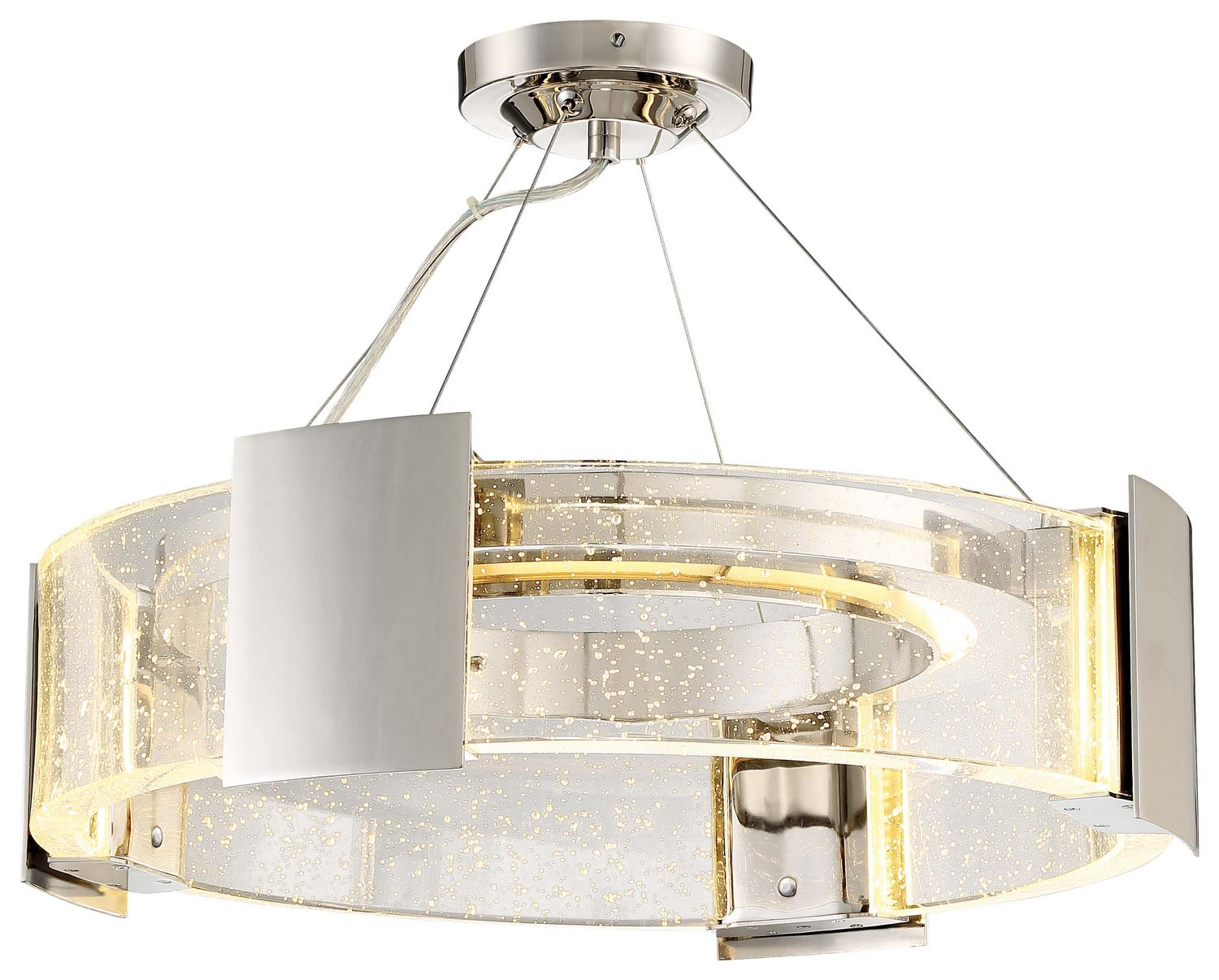 LED Semi Flush Mount Modern Lighting Fixture | Allied Lighting ...