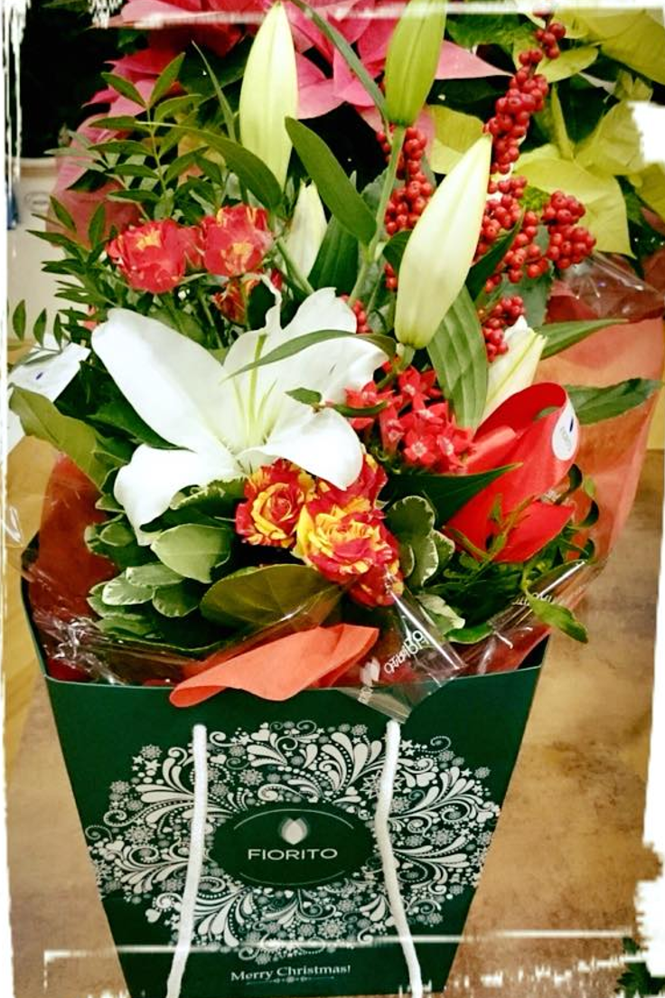 Larte Di Saper Sorprenderebouquet Flowers Christmas Fiorito