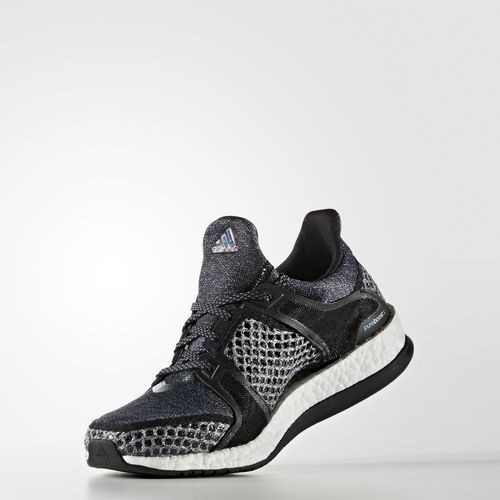 Sale Adidas Women S Training Pure Boost X Training Shoes Core Black Core Black Vapour Blue F16 Aq4596 U Running Shoes Design Sneaker Outlet Adidas Pure Boost