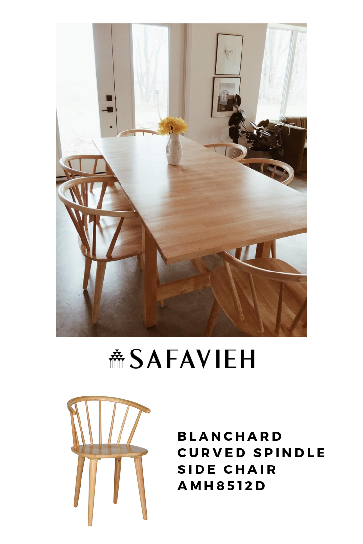 Amh8512d Set2 Dining Chairs Furniture By Safavieh Dining