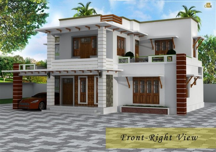 4 Bhk Contemporary House