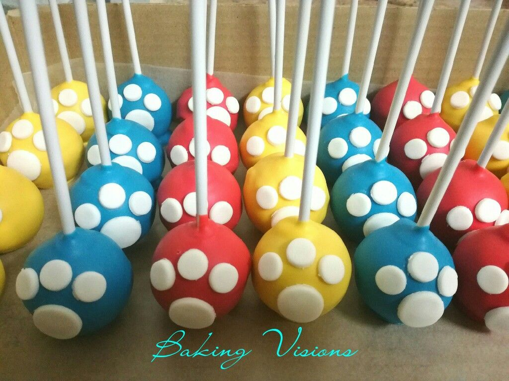 Paw Patrol Cakepops Cakes Cupcakes And Party Snacks By