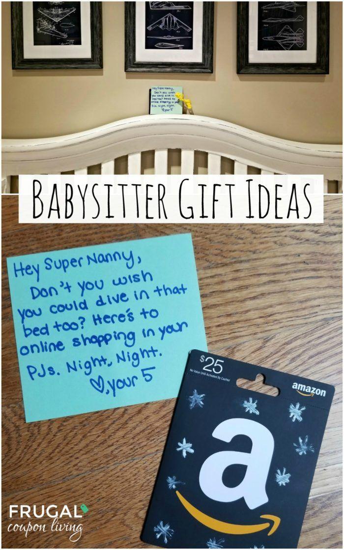 Nanny Appreciation Week Babysitter gifts, Nanny gifts