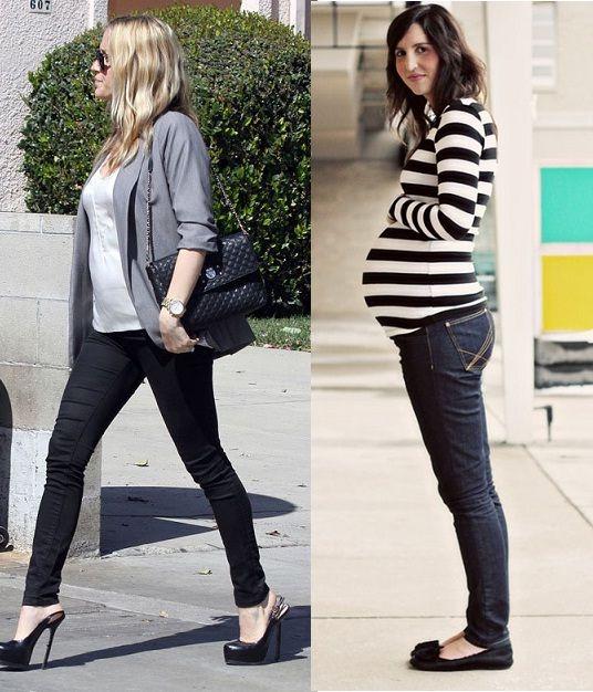Time for Fashion » Looks de street style para embarazadas II \u2013 Pregnancy  street style looks