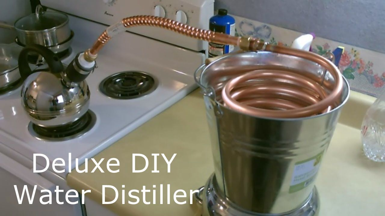 how to make steam distilled water at home