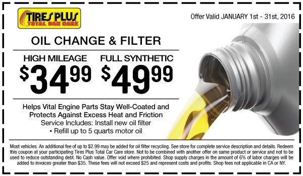 Tires Auto Repair Maintenance Tires Plus Oil Change