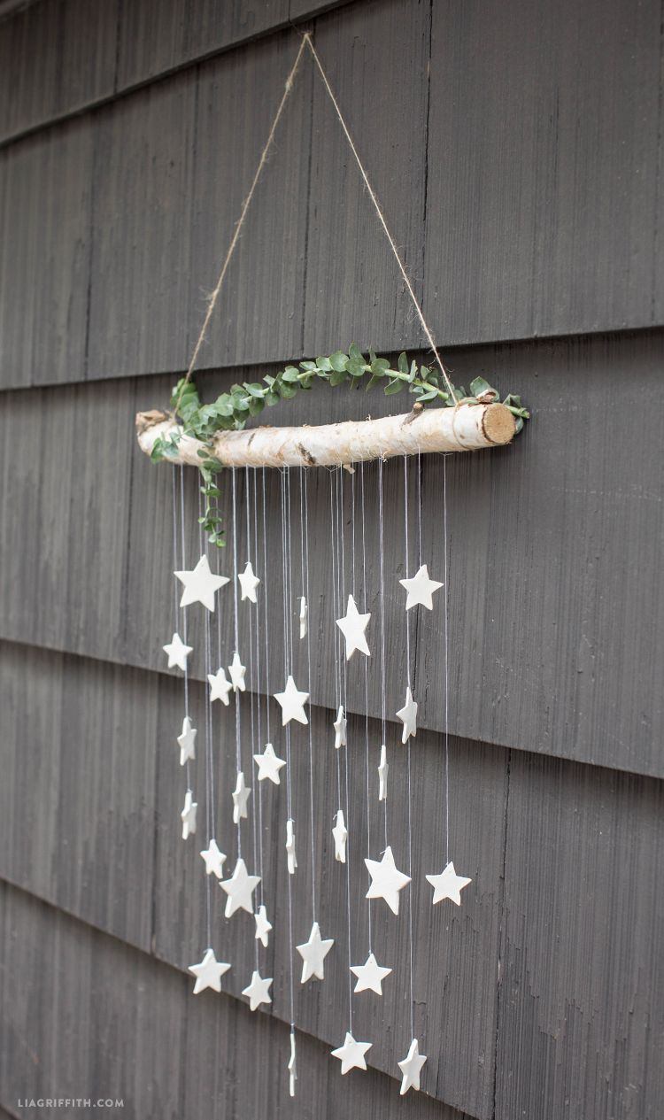 Make This Simple Diy Wall Decor Hanging Clay Stars In Just 6 Steps Kids Wall Decor Diy Summer Wall Decor Diy Wall Decor