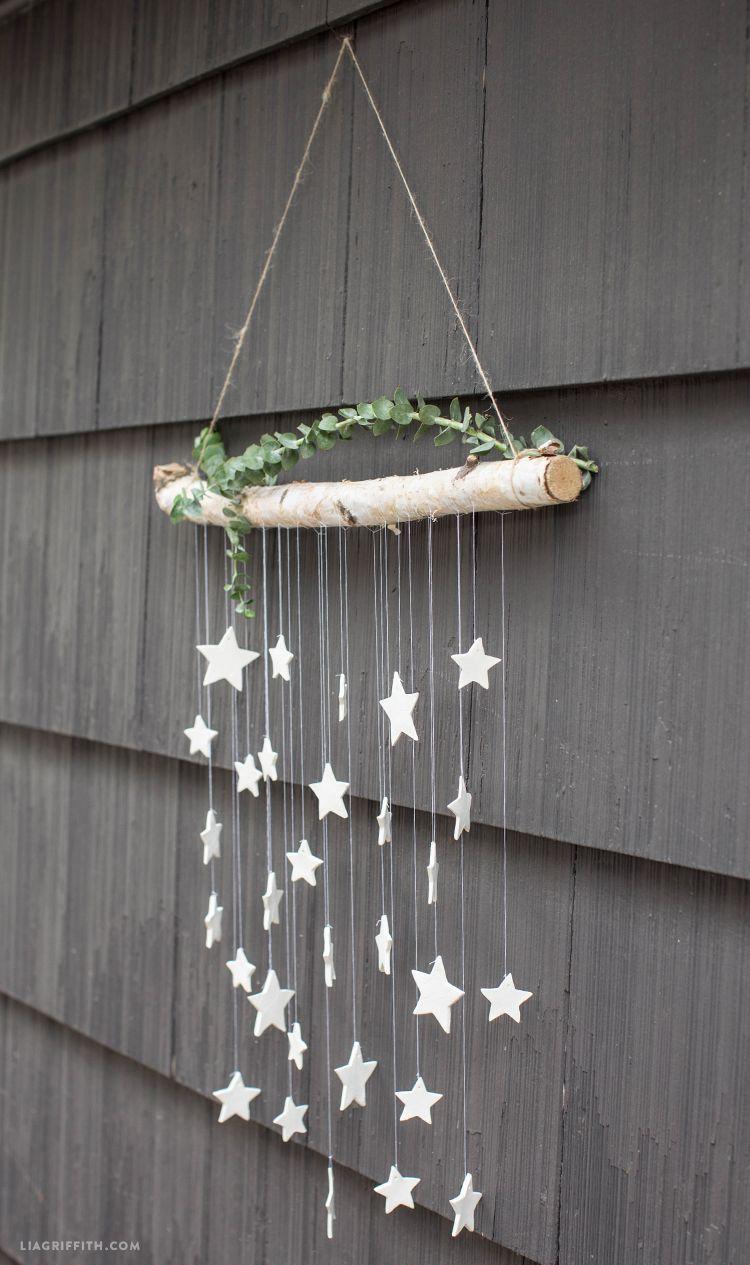 Make This Simple Diy Wall Decor Hanging Clay Stars In Just 6 Steps Summer Wall Decor Diy Wall Decor Hanging Wall Decor