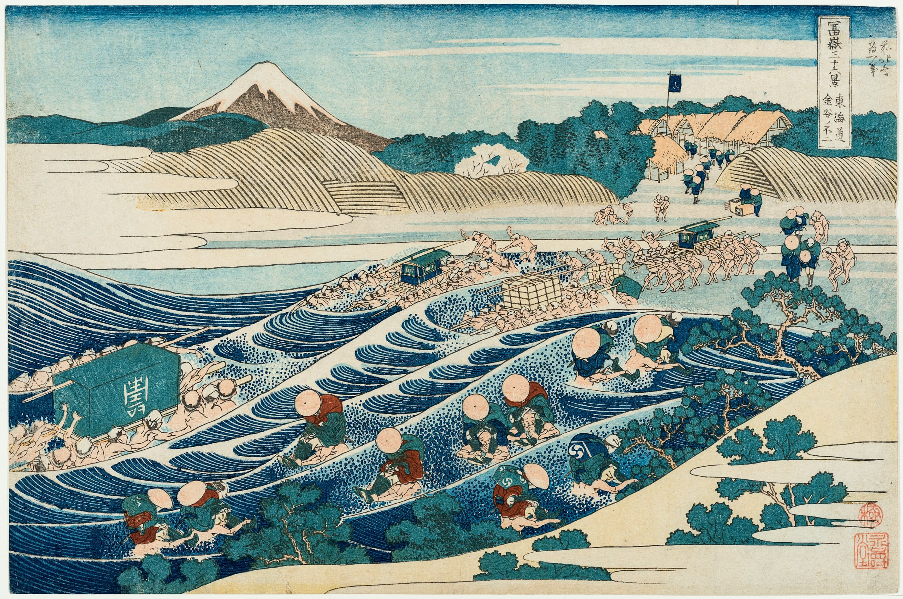 Hokusai the influential work of japanese artist famous