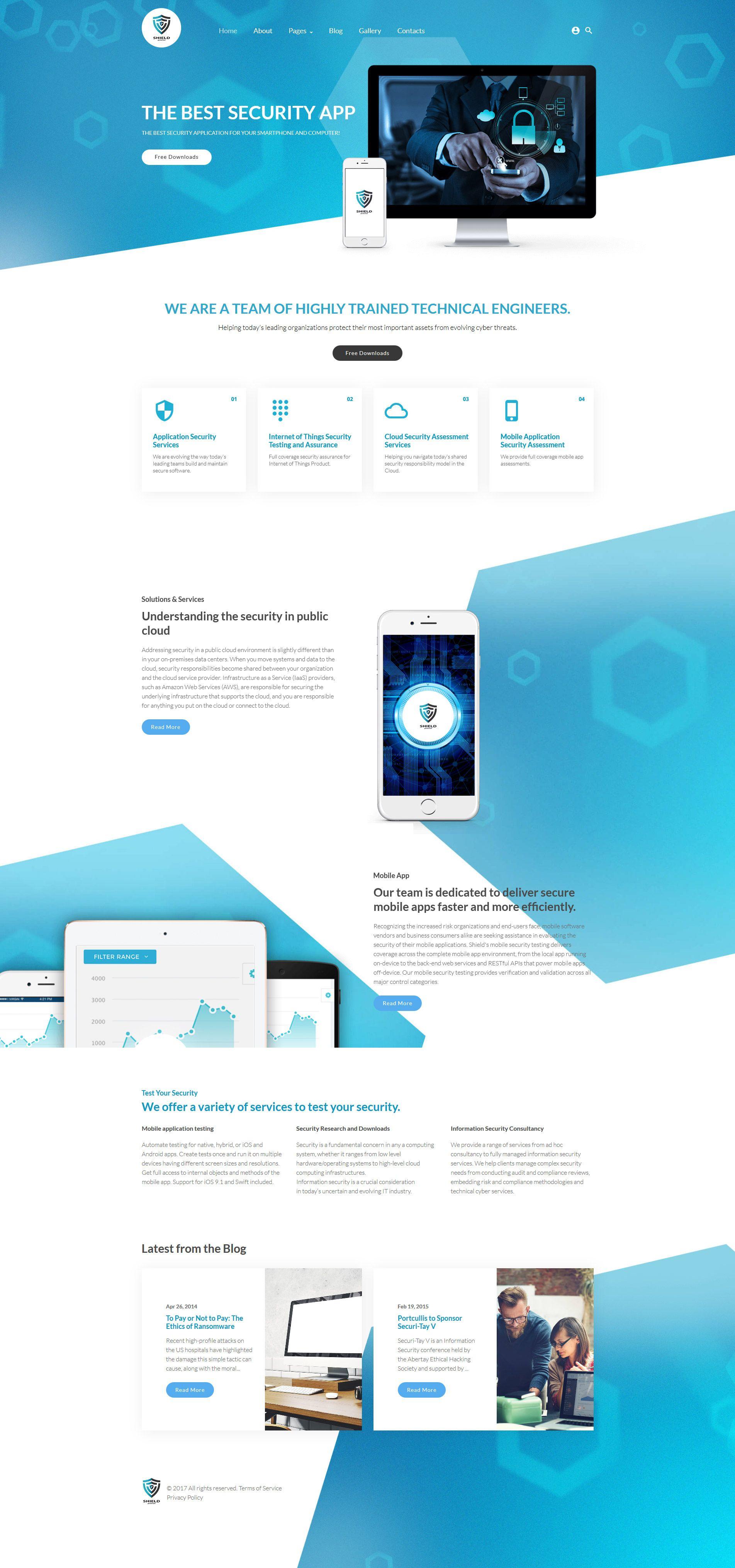 The Best Security App Joomla Template Joomla Templates Website Template Design Website Design