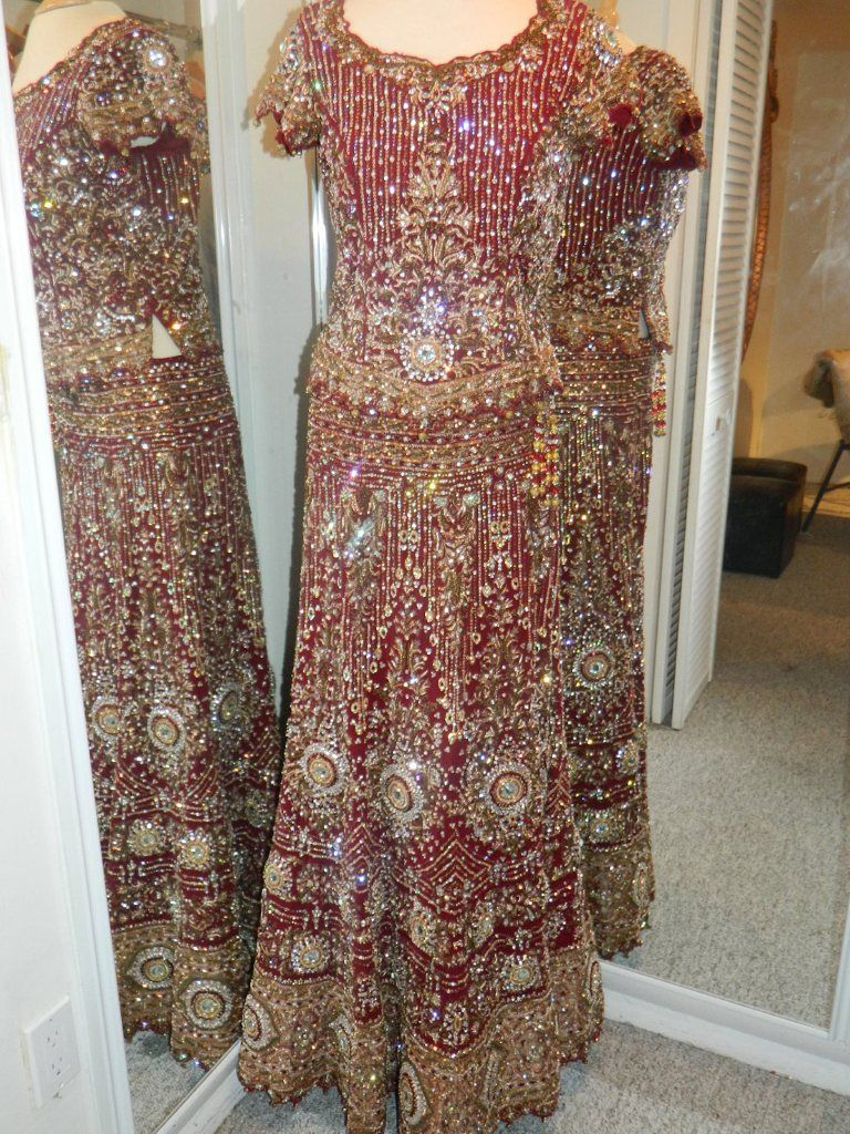 South asian wedding dresses  Ceremony indian wedding dress  woww  Pinterest  Indian wedding