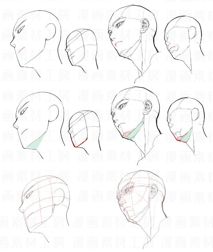 Mangamaterials Tesco On Twitter The Differences Between Beginner S Drawing With Advanced Structure Of The Drawing For Beginners Face Drawing Drawing Tutorial