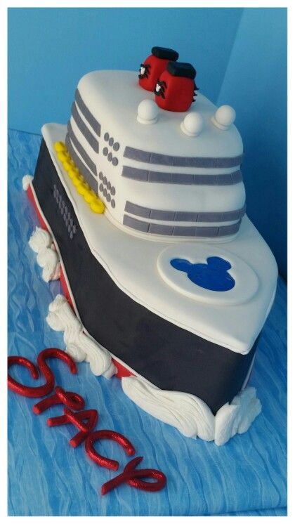Another View Of My Disney Cruise Cake D Cake Ideas