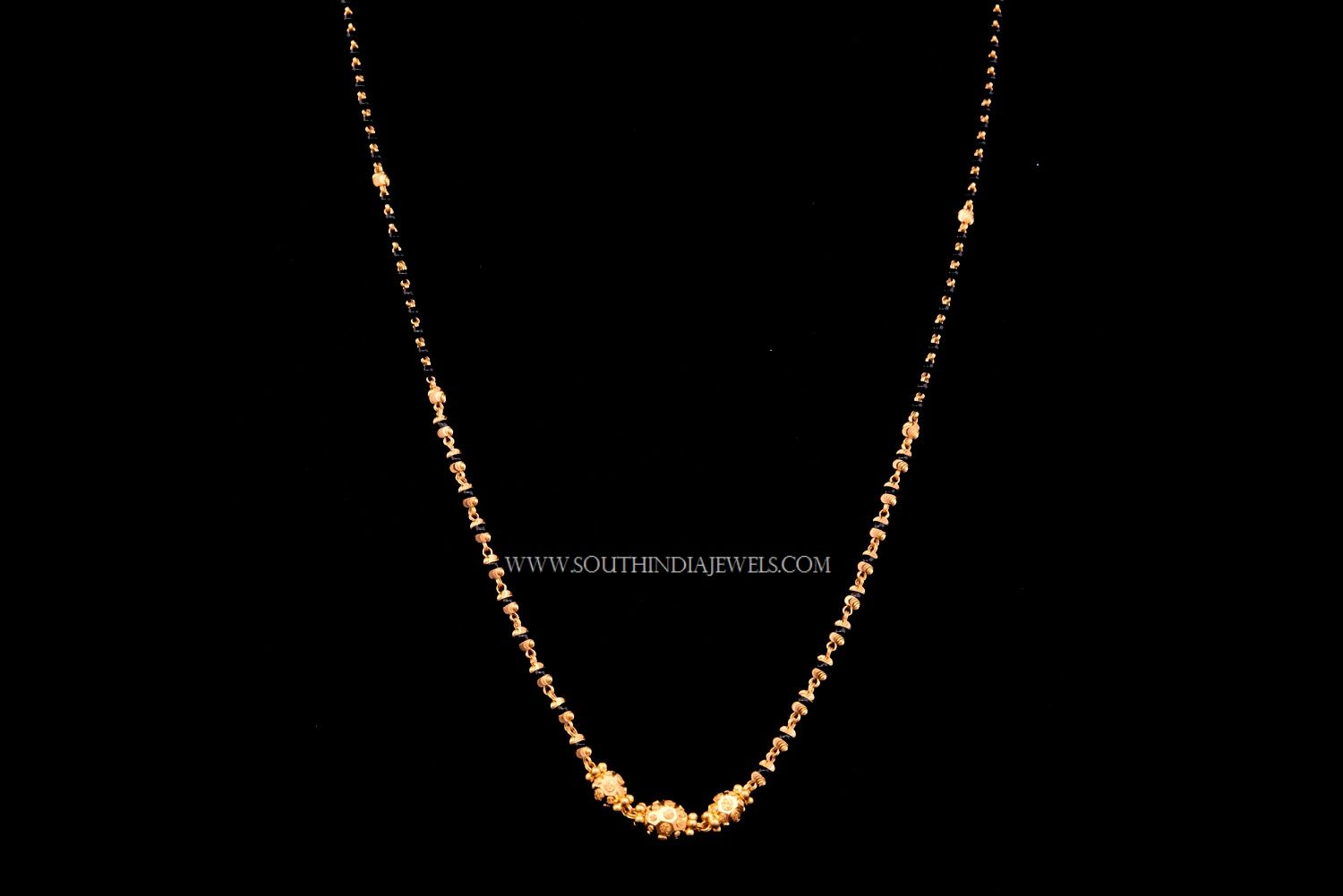 Simple Gold Chain Models