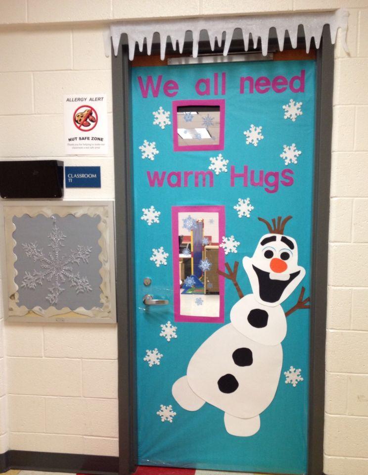 Olaf Door   Classroom Ideas   Pinterest   Classroom door ...