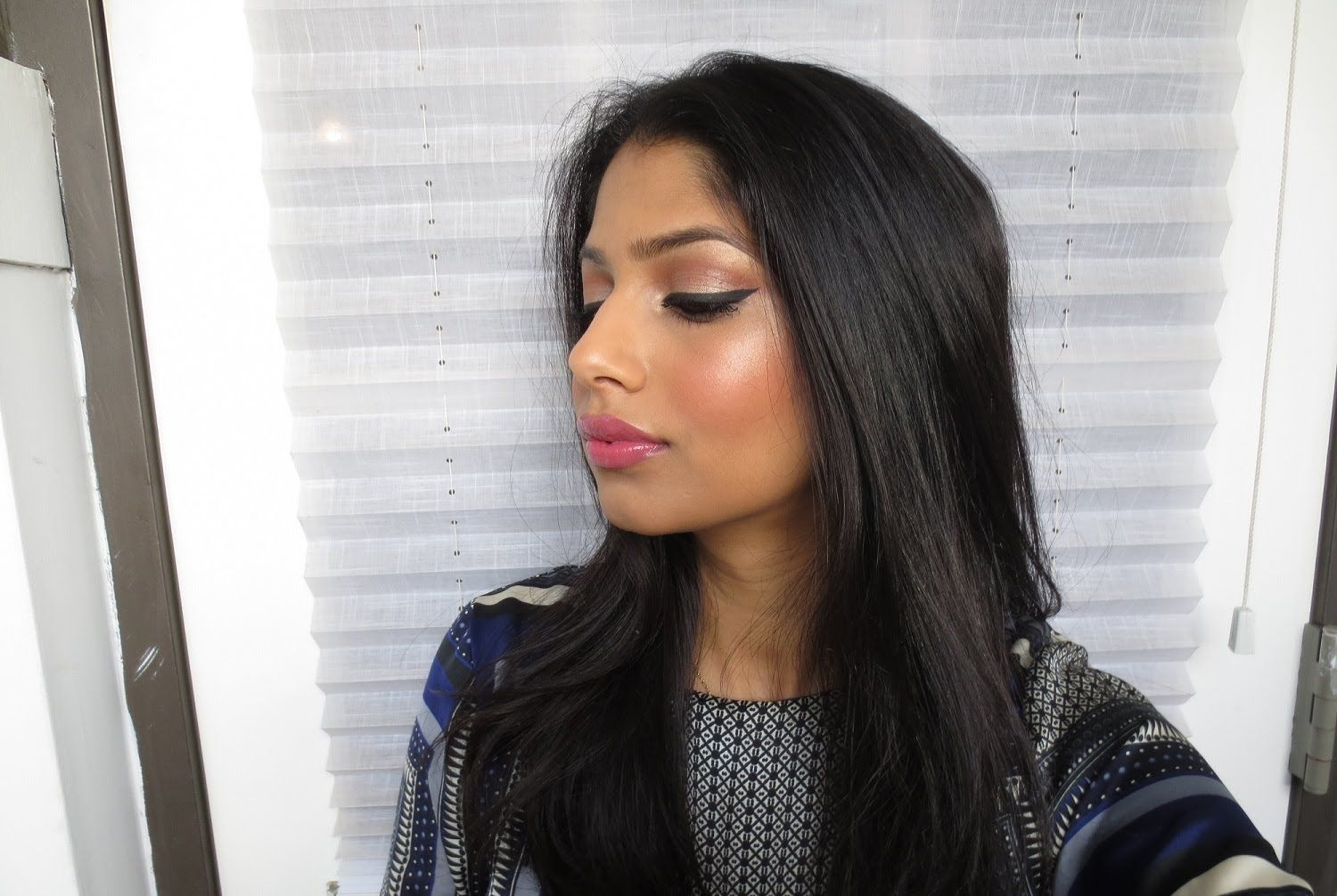 Super Easy Dewy/Glowy makeup for Brown/Indian/Olive skin
